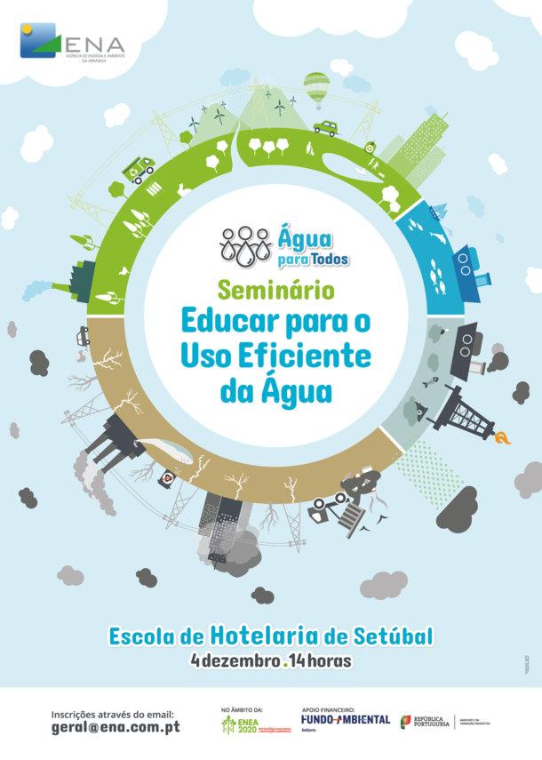 Seminário Educar para o Uso Eficiciente da Água - Maleta Água para Todos