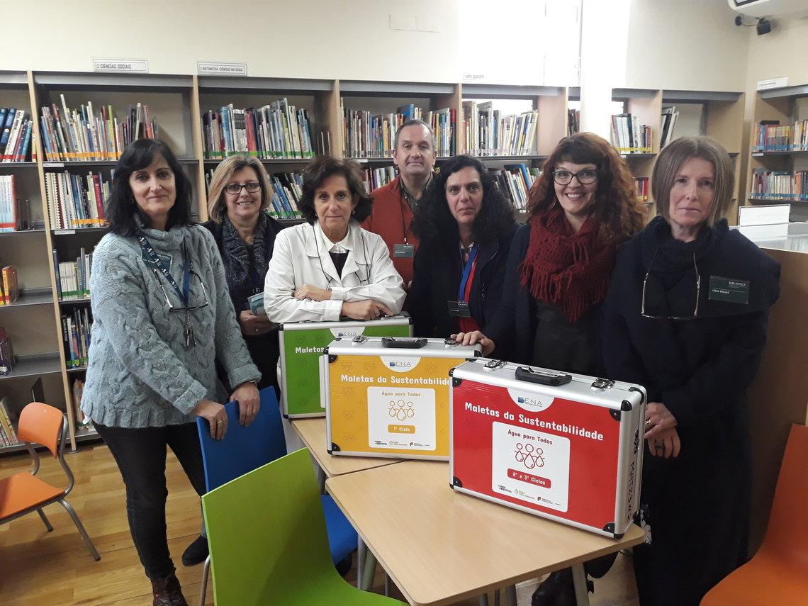 Maletas Água para Todos chegam à Biblioteca Municipal de Setúbal