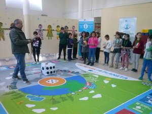 """O Jogo das """"Metas do Planeta"""" visita a Escola Básica de Montalvão"""